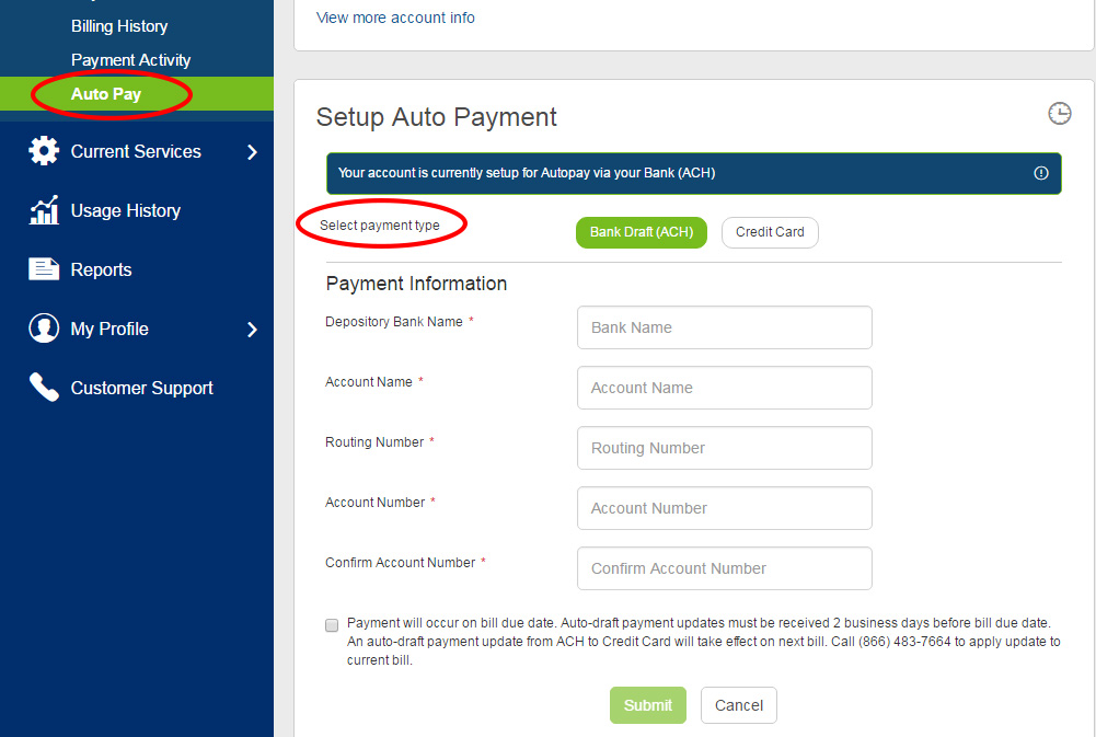 how to set up go pay pass payments